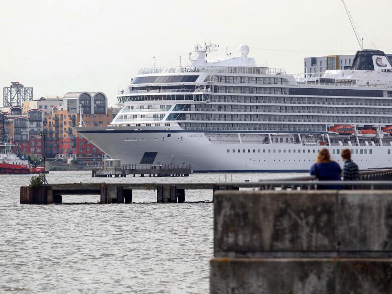 """سفينة """"فايكينغ سي"""" هي إحدى السفن البحرية القليلة التي تضم مختبراً متكاملاً على متنها لإجراء اختبارات (PCR)"""