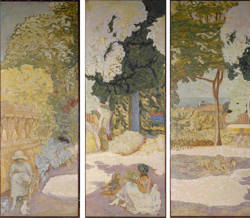 """لوحة الفنان بيير بونرد بعنوان """"البحر الأبيض المتوسط"""" من عام 1911"""