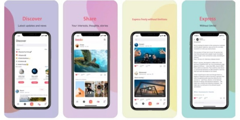 """""""بيتو"""" تطبيق جديد للتواصل الاجتماعي ينافس التطبيقات التقليدية"""