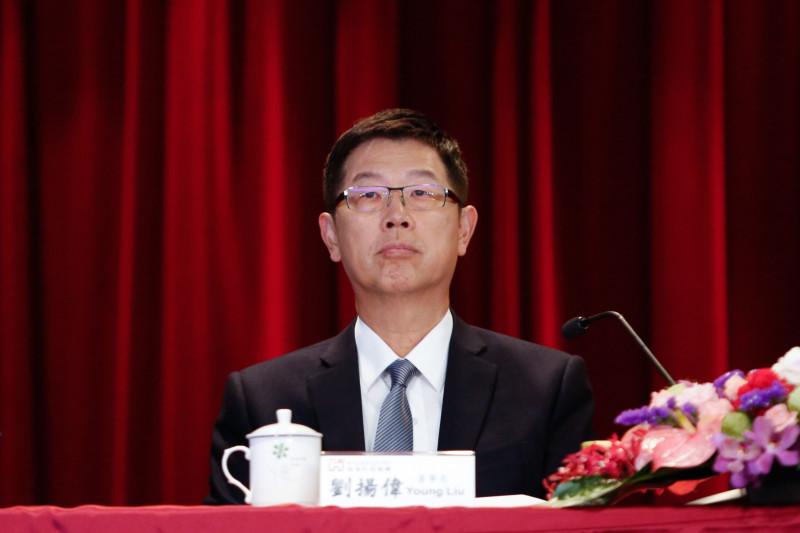 "يونغ ليو رئيس شركة ""هون هاي بريسشن"""