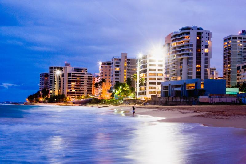 شاطئ كوندادو في سان خوان، بورتوريكو