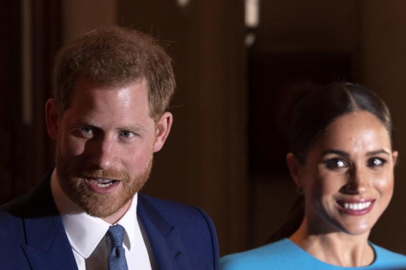 الأمير هاري وعقيلته ميغان ماركل