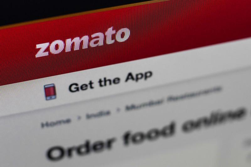 """شركة """"زوماتو"""" الهندية لتوصيل الطعام"""
