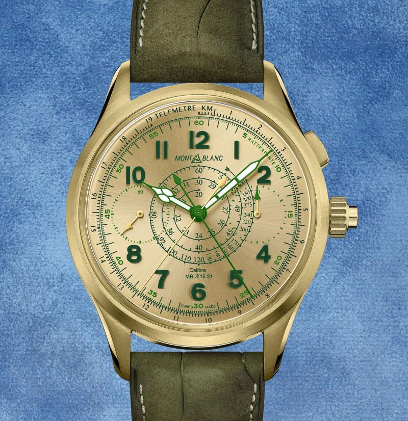 """الساعة """"كرونوغراف مون بلان 1858 سبليت الثانية"""""""