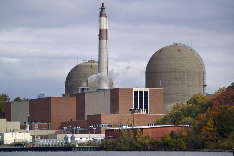 """مركز """"إنديان بوينت"""" في شهر إبريل 2021، وذلك قبل وقت قصير من إغلاق المفاعلين بشكل دائم"""