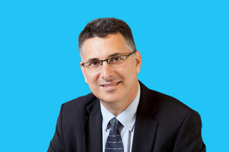 جدعون ساعر زعيم حزب الأمل الجديد، إسرائيل