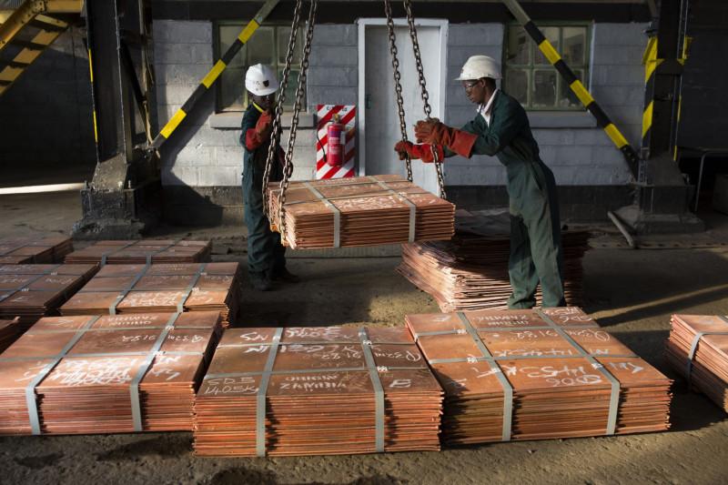 تعتمد زامبيا على النحاس في ما يقرب من 80% من عائدات التصدير