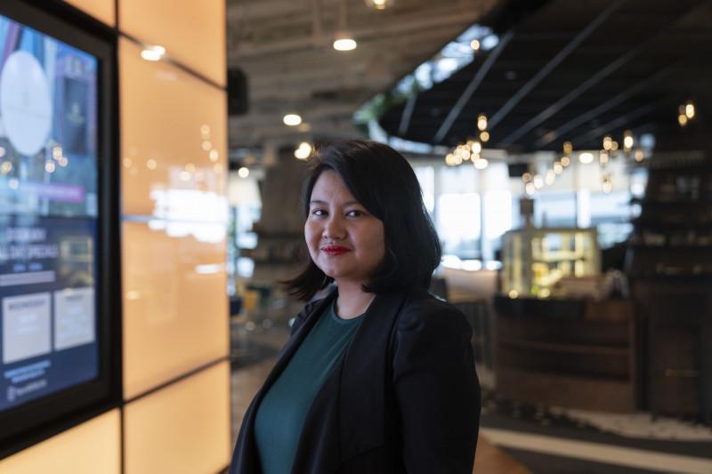 فيرجينيا تان، محامة ورائدة أعمال تعيش في سنغافورة
