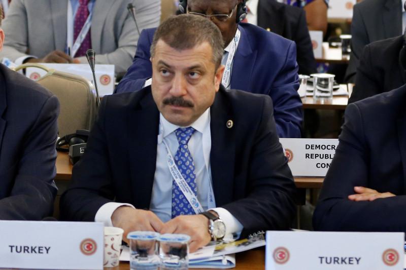 محافظ البنك المركزي التركي شهاب قاوجي أوغلو