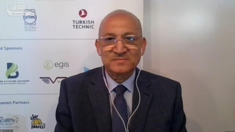 رشدي زكريا رئيس الشركة القابضة لمصر للطيران