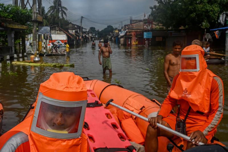 """فيضانات """"أمتا""""  في الهند هذا العام"""