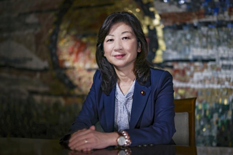 سيكو نودا، وزيرة الشؤون الداخلية السابقة في اليابان