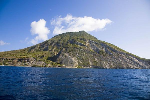 الجزيرة الخصبة في سينت أوستاتيوس