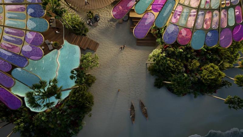 نموذج فندق بمشروع كورال بلوم