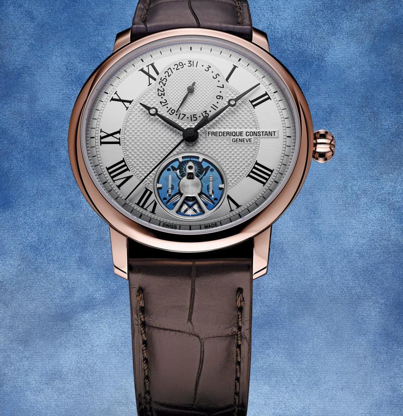 """الساعة الفاخرة """"فريدريك كونستانت سليملاين المتآلف"""""""