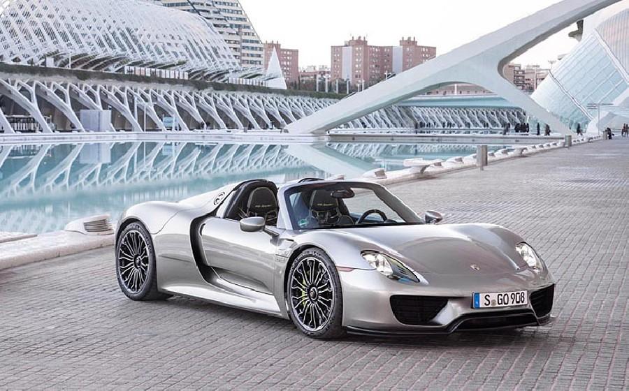 بورش 918 سبايدر (Porsche 918 Spyder)، 1 مليون دولار أمريكي
