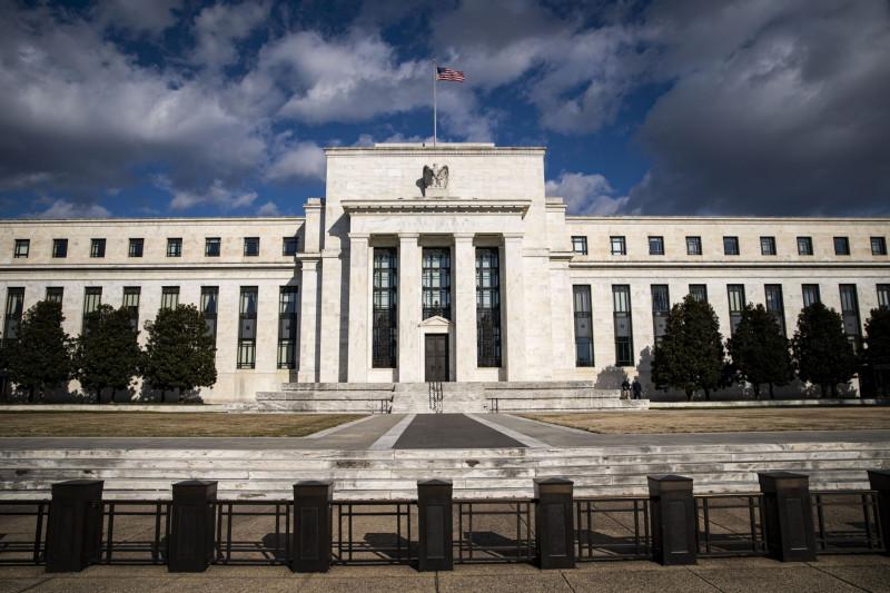 مبنى الفيدرالي الأمريكي والذي يستبعد اقتصاديون أن يتدخل لتحجيم العوائد على سندات الخزينة