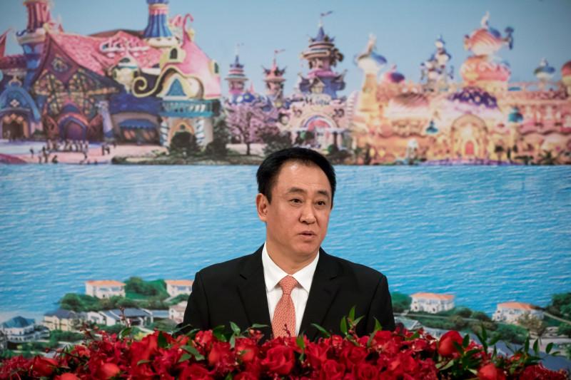"""""""هوي كا يان""""، الملياردير الصيني، مؤسس شركة """"تشاينا إيفرغراند"""""""