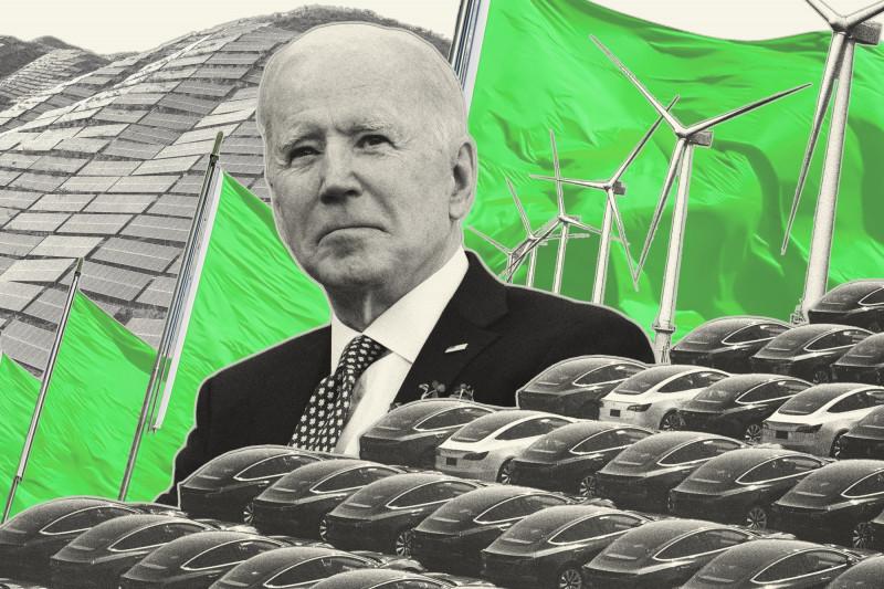 بايدن يدرس بجدية التعهد بخفض الانبعاثات بنسبة 50% بحلول عام 2030، مقارنة بمستويات عام 2005