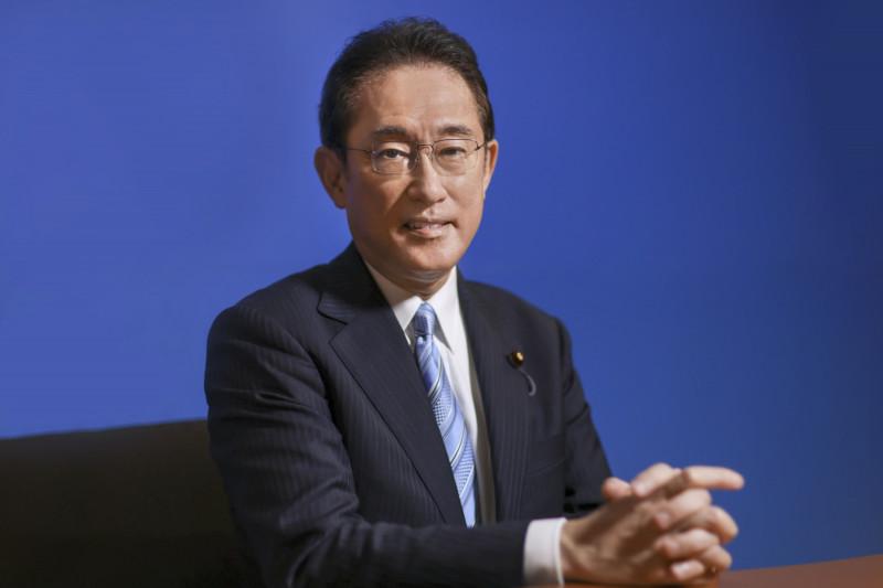 فوميو كيشيدا، وزير الخارجية السابق، والمرشح لرئاسة الوزراء في اليابان