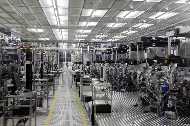 """مصانع """"تويوتا"""" كانت أقلّ تأثراً بأزمة الرقائق"""