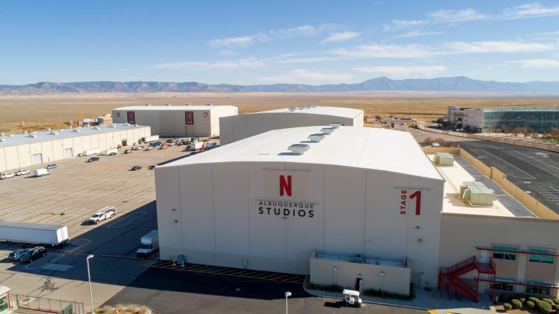 """استديوهات """"نتفلكس"""" في ولاية نيومكسيكو، قد تجعل منها أكبر مراكز الإنتاج السينمائي في أمريكا الشمالية"""