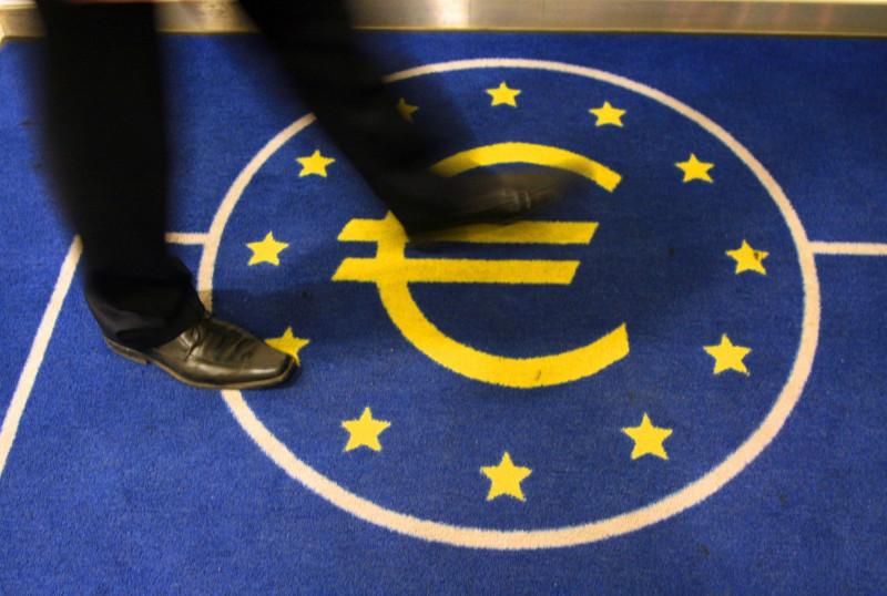 شعار البنك المركزي الأوروبي في فرانكفورت، ألمانيا