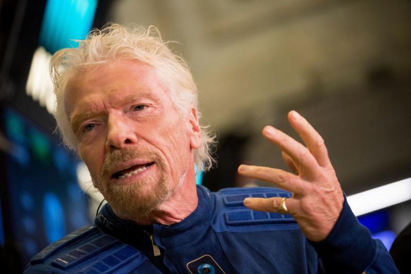 الملياردير ريتشارد برانسون، مؤسس مجموعة فيرجن