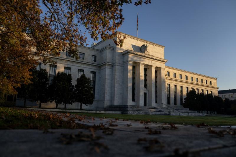 مبنى بنك الاحتياطي الفيدرالي الأمريكي في العاصمة واشنطن. الولايات المتحدة