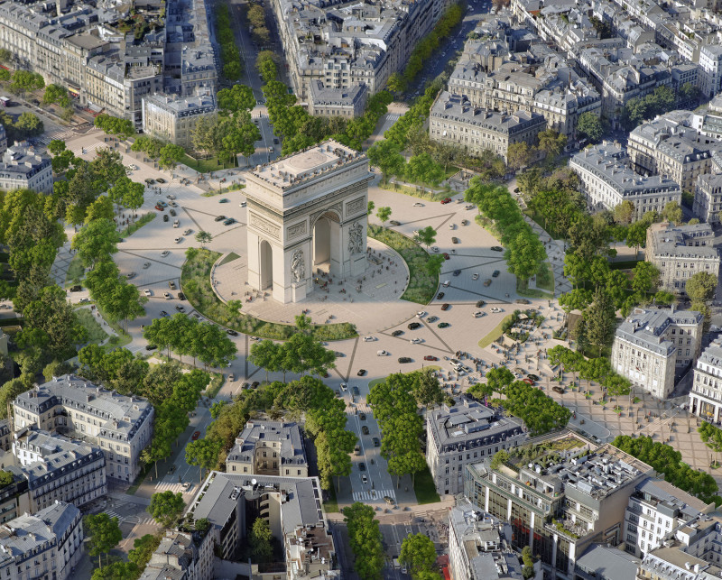 خطة إعادة تطوير أشهر شوارع باريس المُقترحة