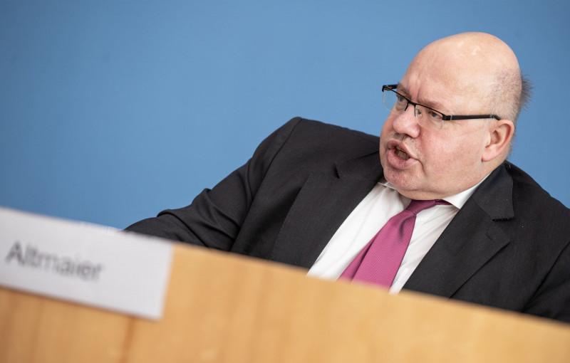 بيتر ألتماير وزير الاقتصاد الألماني