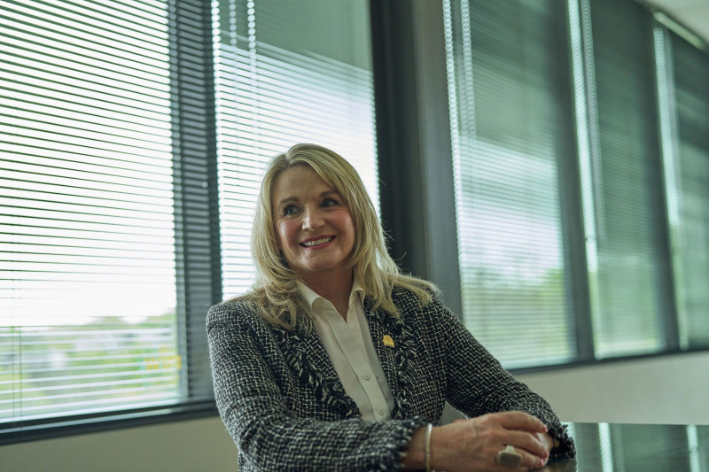 سوزان هورتون رئيسة مجلس أوستن للوسطاء العقاريين