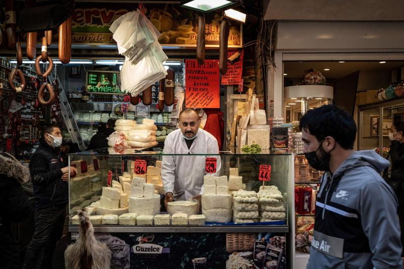 أسعار الغذاء في تركيا ارتفعت في يناير بنسبة 18% على أساس سنوي