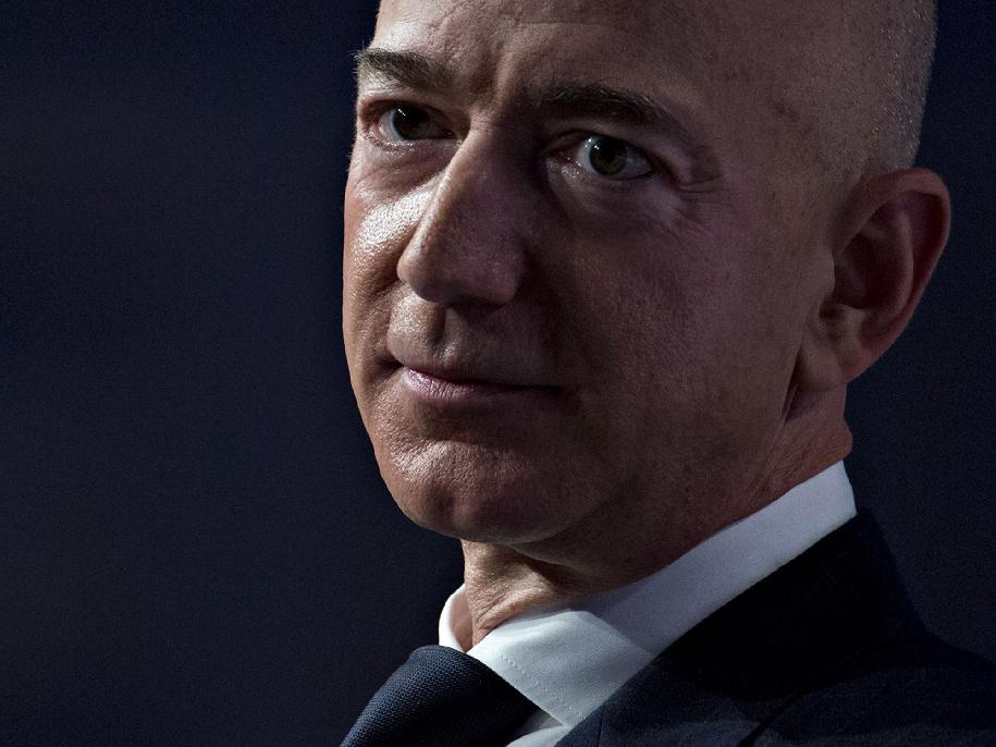 جيف بيزوس، الرئيس التنفيذي لشركة أمازون