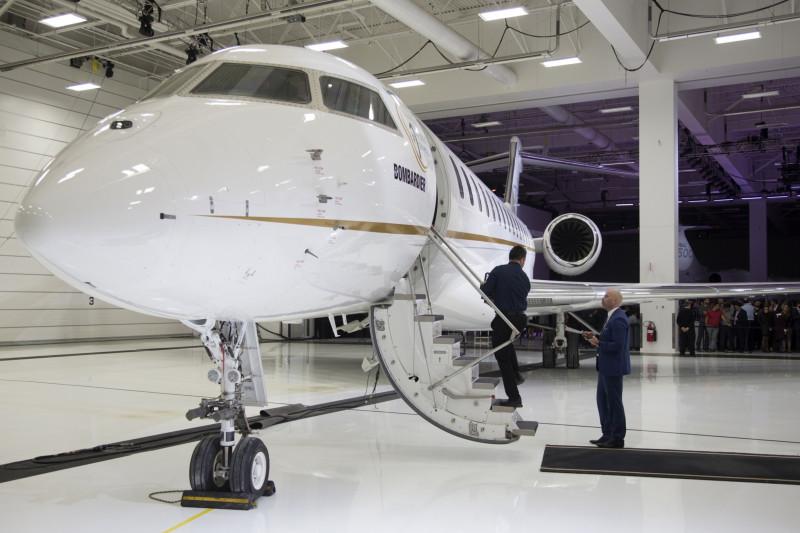 """طائرة """"بومباردييه غلوبال 7500"""""""