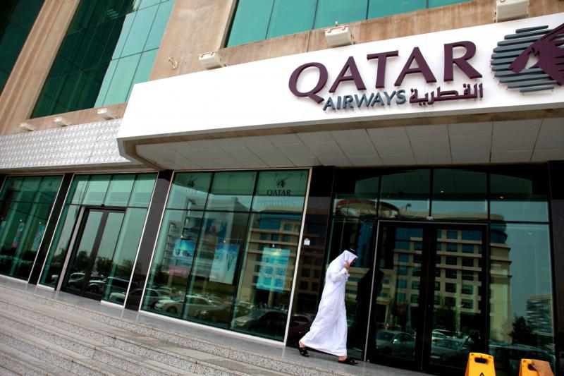 مقر شركة الخطوط الجوية القطرية في الدوحة