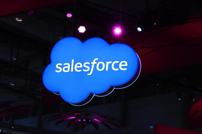 لوجو شركة سيلزفورس  Salesforce.Com