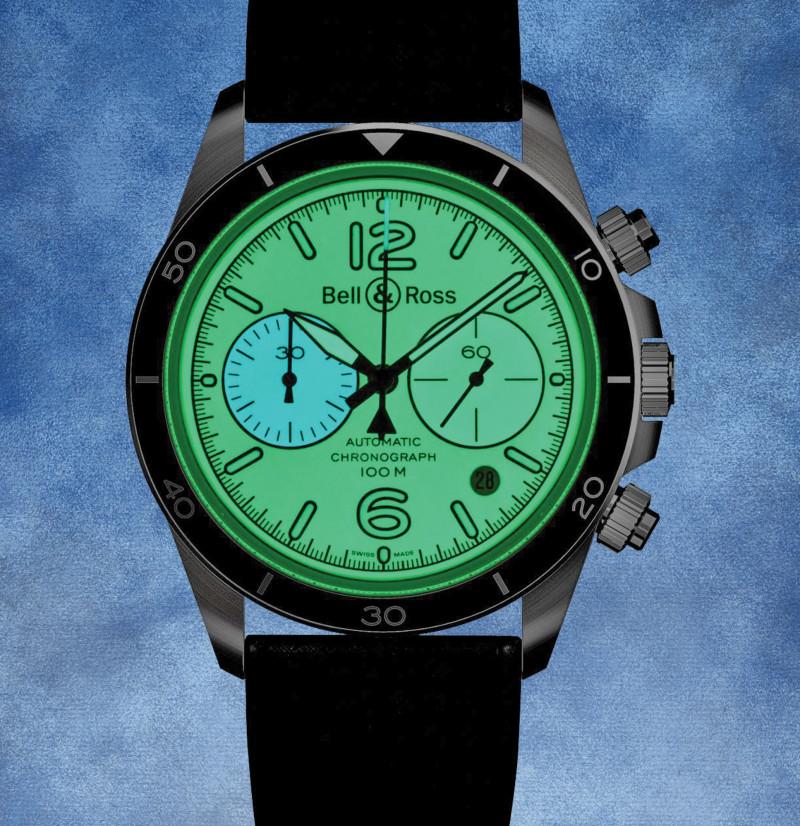 """الساعة """"بيل آند روز بي آر - V2-94 فول لام"""""""