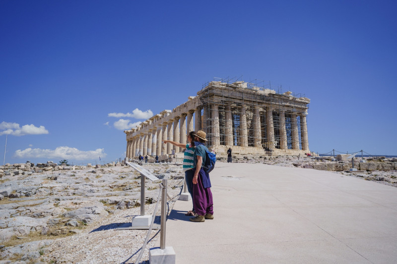 أضافت الخطوط الجوية مسارات موسمية جديدة إلى أثينا