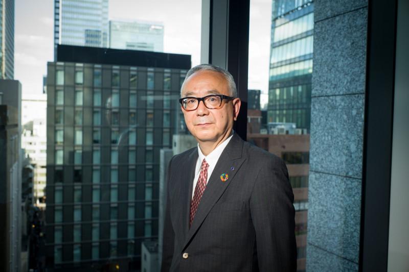 """إيساو تيشيروغي، الرئيس التنفيذي لشركة """"شيونوغي"""" اليابانية"""