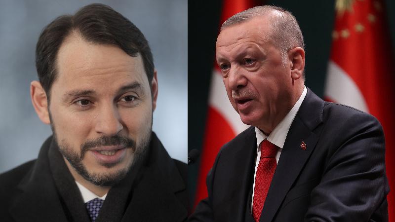أردوغان وألبيرق