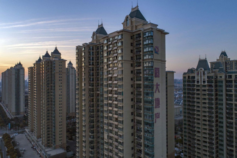 """أبنية من تطوير """"إيفرغراند"""" في مدينة هوايان"""