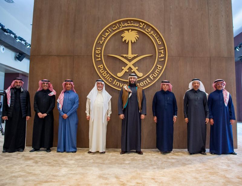 الأمير محمد بن سلمان ولي العهد السعودي ومجلس إدارة صندوق الاستثمارات العامة