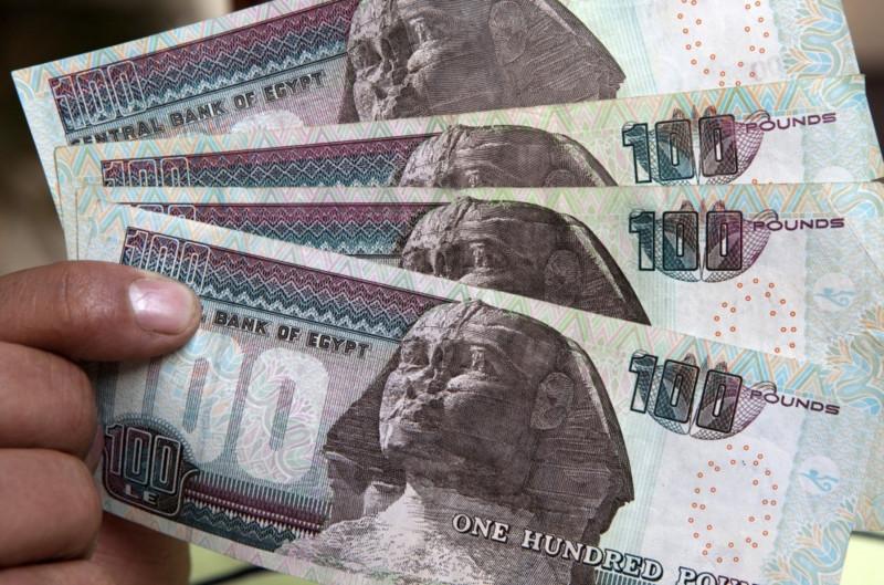 أوراق نقد مصرية من فئة 100 جنيه