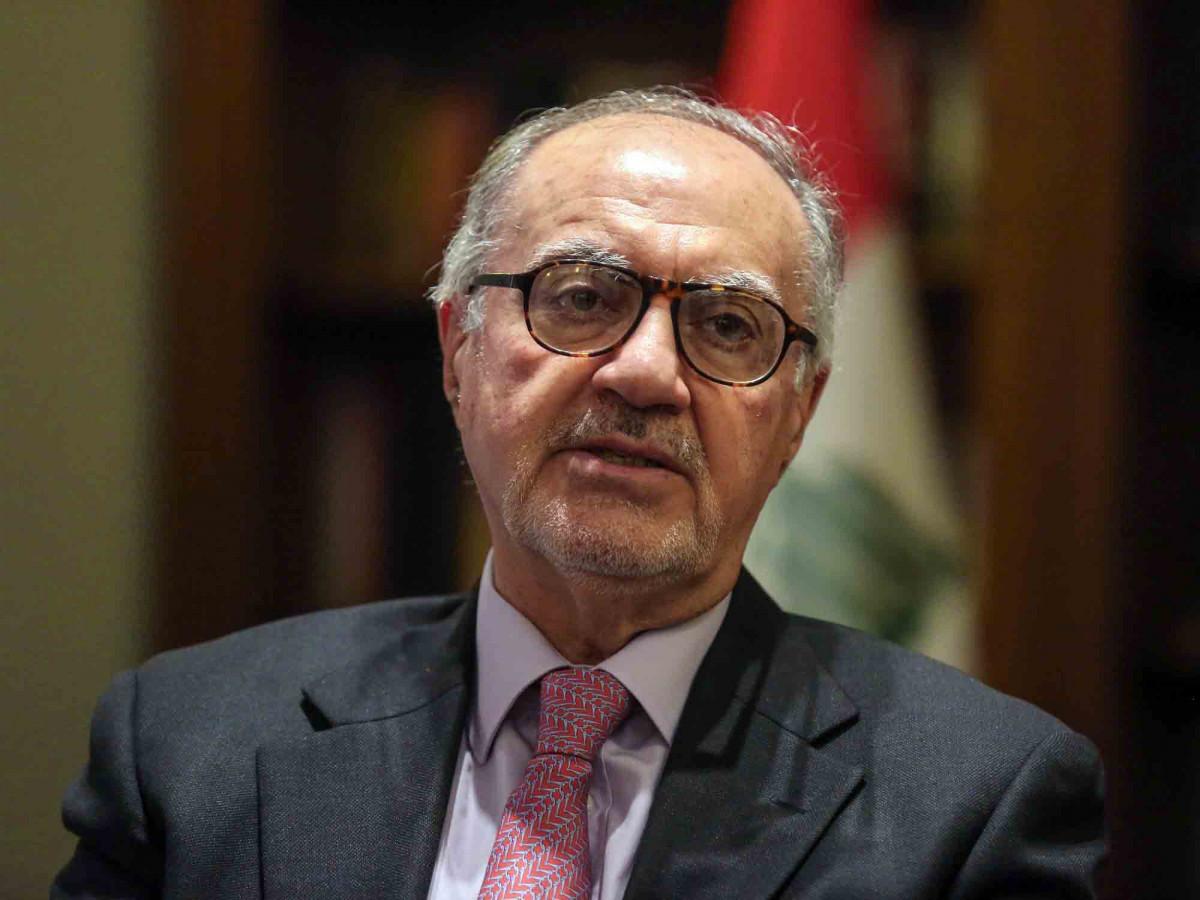 علي علاوي وزير المالية العراقي